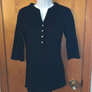 Victoria Secret 1/4 sleeve button down. Like new.